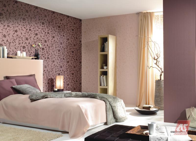 Оформление стен в спальне фото